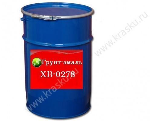 Грунт-эмаль ХВ-0278 зеленая RAL 6029